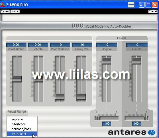 Antares AVOX